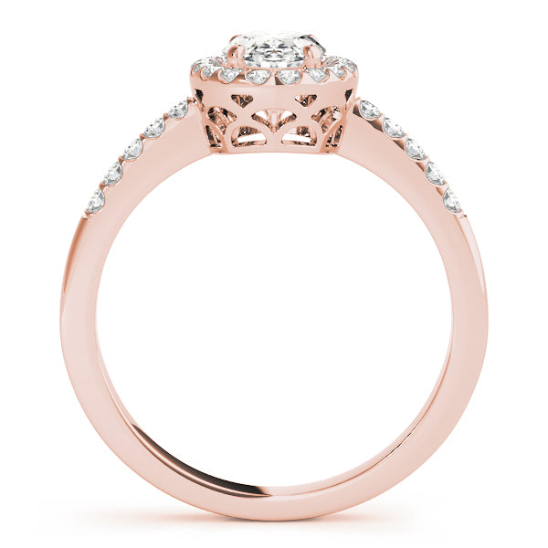Oval Halo Engagement Ring Style LY71906 - Lyght Jewelers 10040 W Cheyenne Ave Ste 160 Las Vegas NV 89129