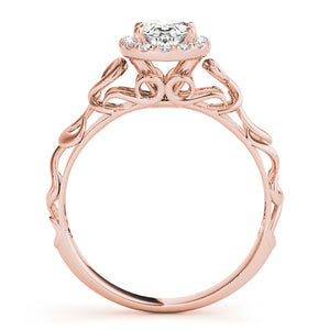 Oval Halo Engagement Contemporary Ring Style LY71922 - Lyght Jewelers 10040 W Cheyenne Ave Ste 160 Las Vegas NV 89129