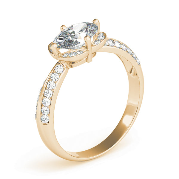 Oval Halo Engagement Classic Fancy Vintage Ring Style LY71930 - Lyght Jewelers 10040 W Cheyenne Ave Ste 160 Las Vegas NV 89129