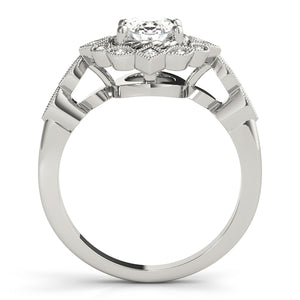 Oval Halo Vintage Engagement Ring Style LY71910 - Lyght Jewelers 10040 W Cheyenne Ave Ste 160 Las Vegas NV 89129