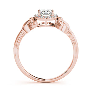 Oval Halo Engagement Floral Ring Style LY71914 - Lyght Jewelers 10040 W Cheyenne Ave Ste 160 Las Vegas NV 89129