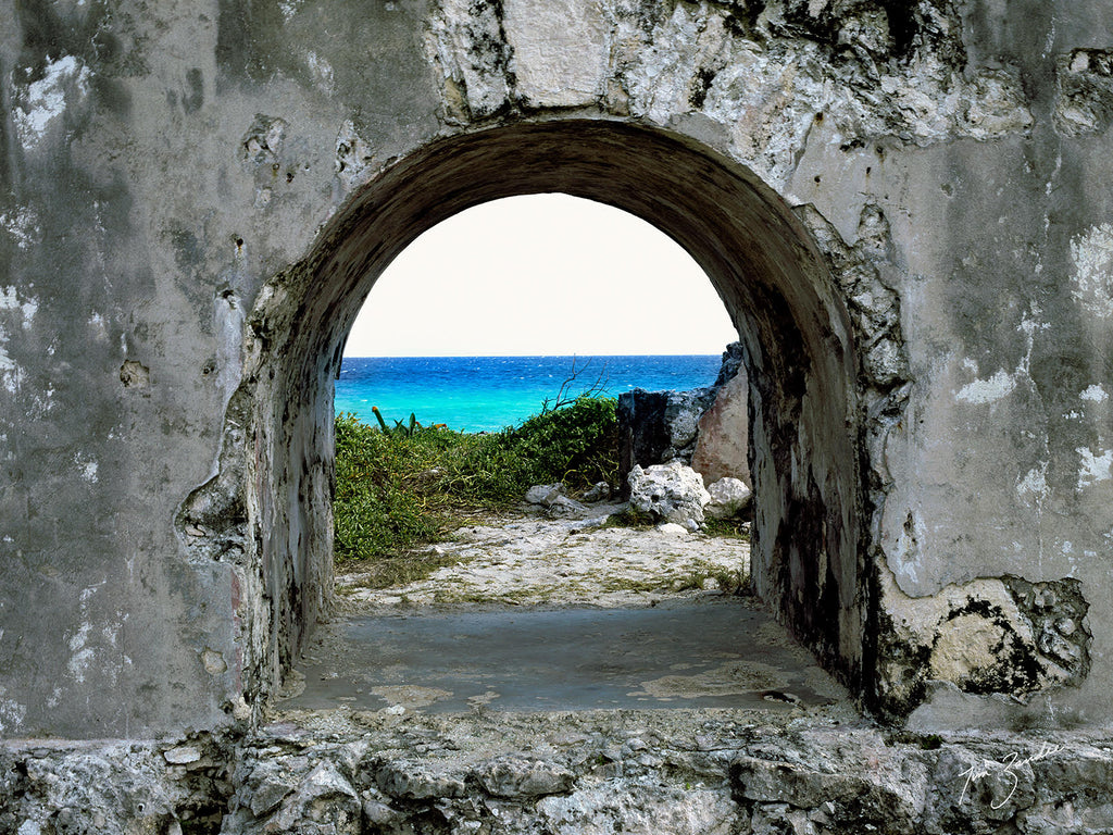 """Not All is Ruined"" Punta Sur, Cozumel by Tim Zandee"