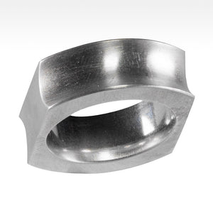 """Double"" Argentium Silver Ring - Lyght Jewelers 10040 W Cheyenne Ave Ste 160 Las Vegas NV 89129"