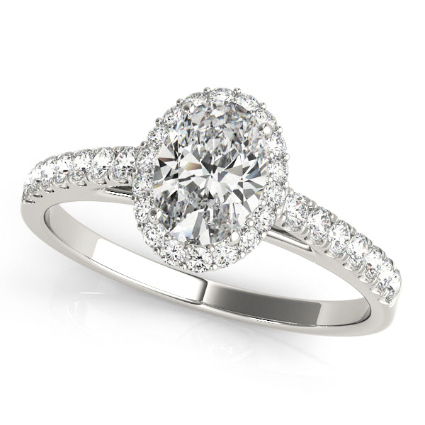 Oval Halo Engagement Ring Style LY71905 - Lyght Jewelers 10040 W Cheyenne Ave Ste 160 Las Vegas NV 89129
