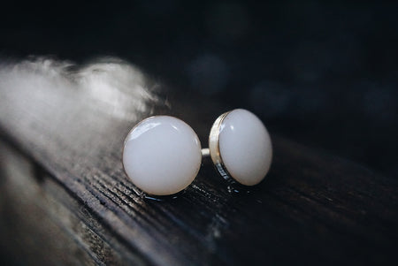 'Eva' keepsake stud earrings