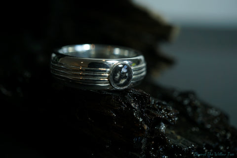 'Kratos' ring in sterling silver or gold