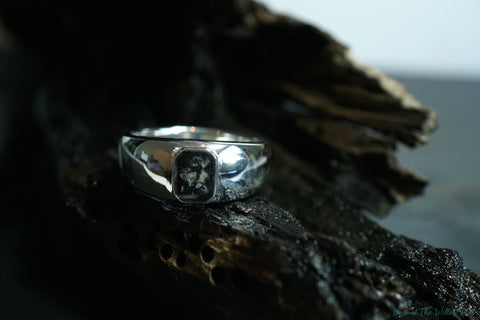 'Eros' sterling silver or Gold ring
