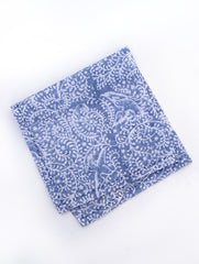 Birds of Paradise Napkin - Blue - Set of 4