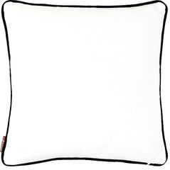 Anhad - Cushion - Cotton - Screen Print - Black & White