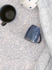 Anhad - Bed Linen - Double Bedsheet - Single Bedsheet - Pillow - Cotton - Block Print - Indigo - Blue