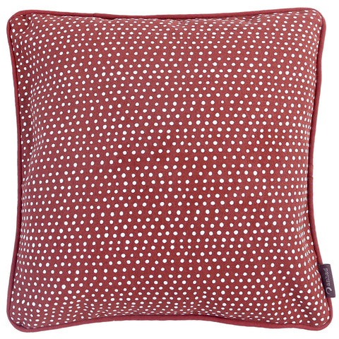 Anhad - Cushion - Cotton - Screen Print - Rust