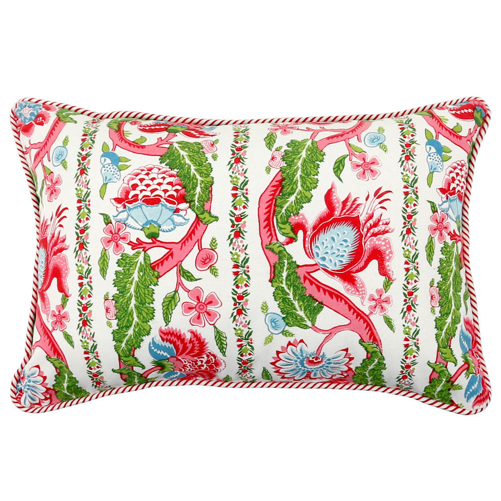 Anhad - Cushion - Cotton - Screen Print - Floral