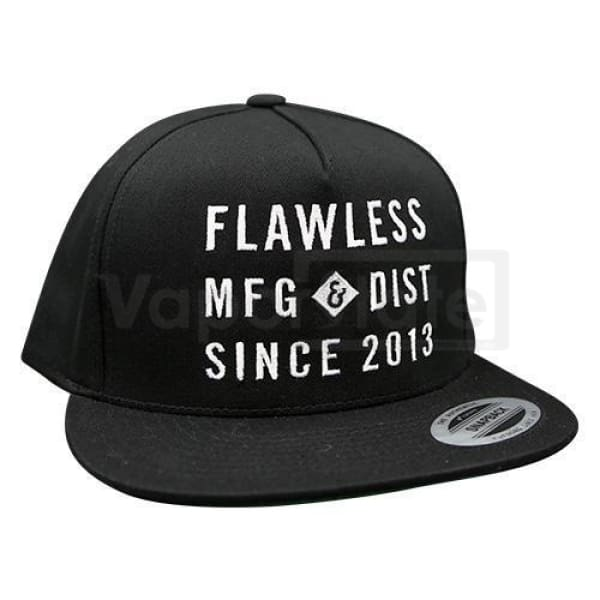 Flawless Standard Issue Snapback Hat Black Clothing