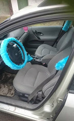 turquoise car accessories customer car