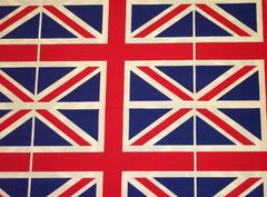 Union Jack flag cotton car steering wheel cover - Poppys Crafts