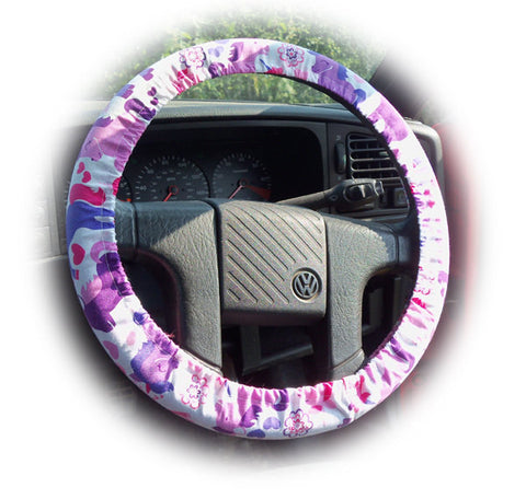 *OUT OF STOCK* Unicorn print cotton car steering wheel cover *OUT OF STOCK*