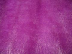 Lilac Fuzzy Faux Fur Car Steering Wheel Cover