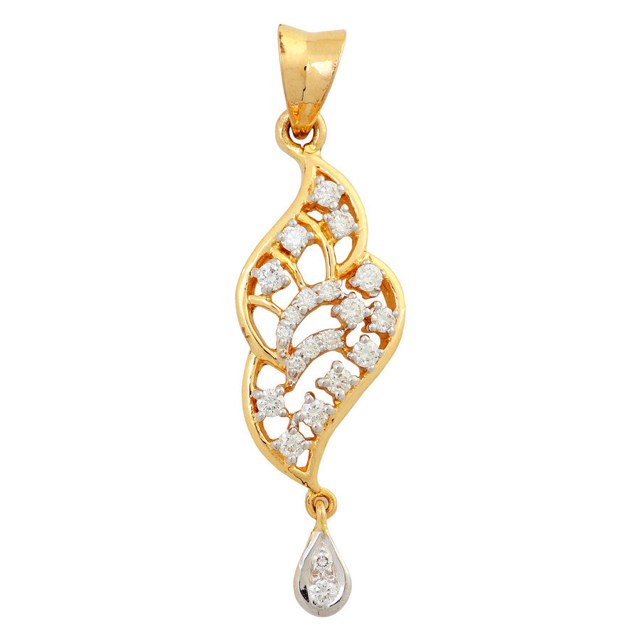 Simpthy Design Diamond Studded Pendent
