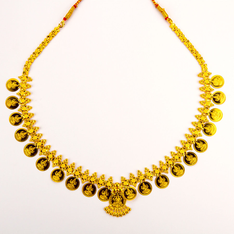 Ethnic Design Laxmi Necklace