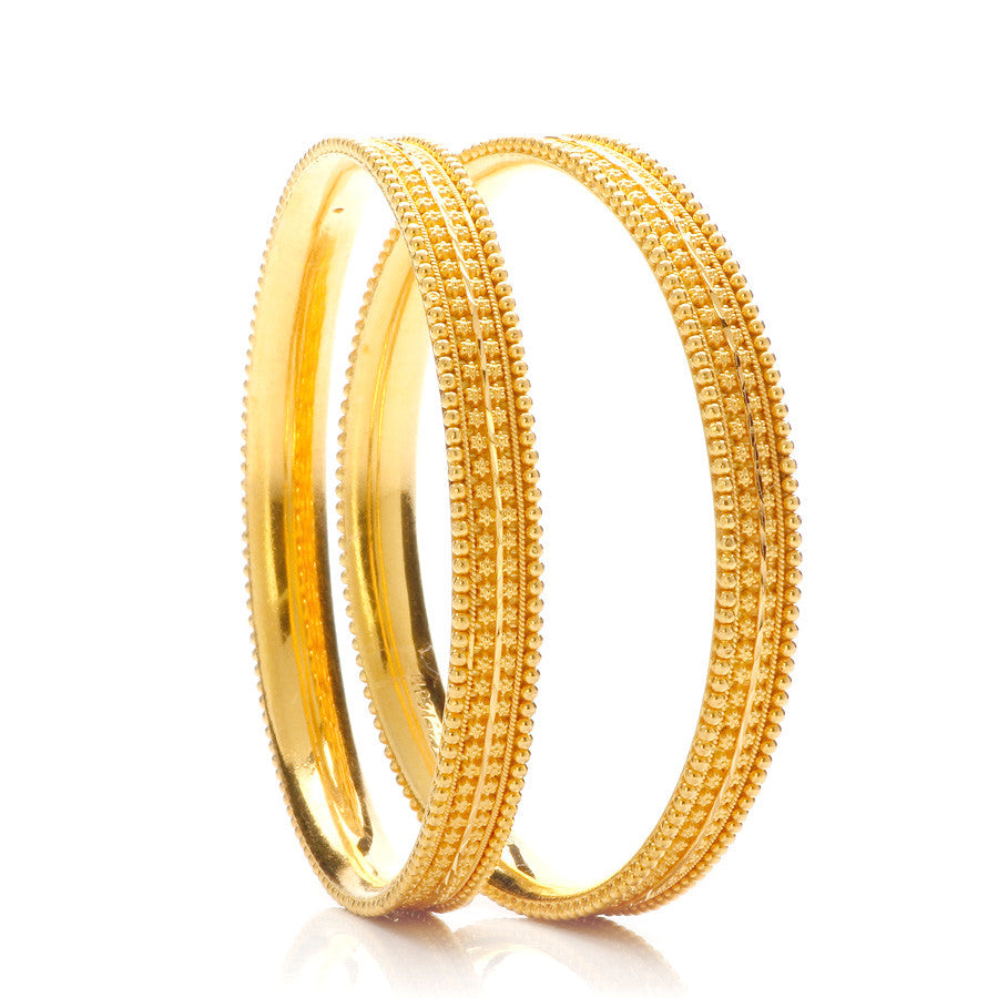 Groming Gold Bangle Design