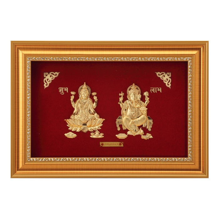 LAXMI AND GANESHA FRAME