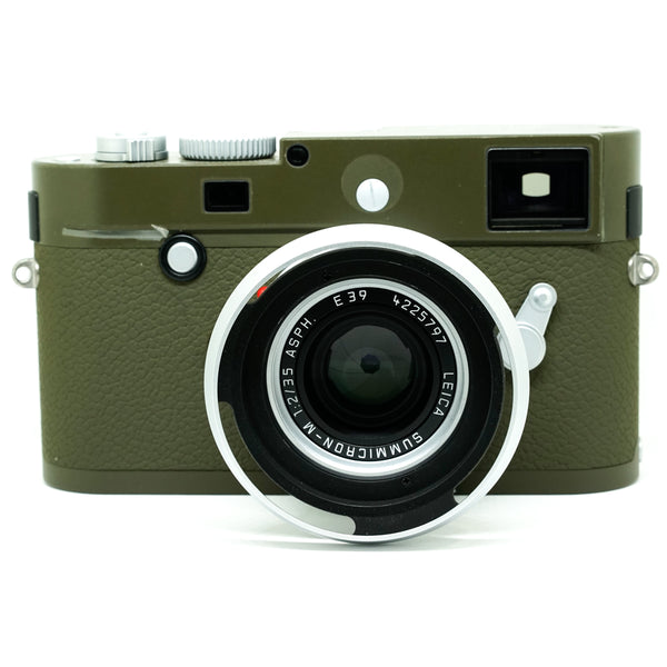 Leica M-P (Typ 240) Safari Set c/w EVF 2 & Leather Protector