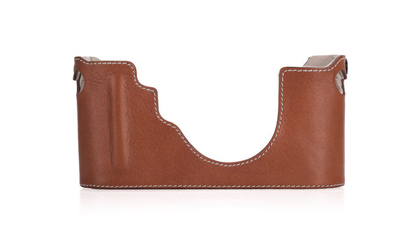 Leica Camera Protector for M (Typ 240) - Cognac - Front View