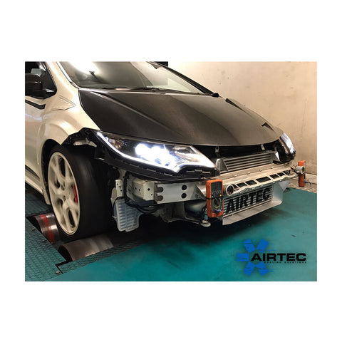 Airtec Front Mount Intercooler With Big Boost Pipe Kit | Honda Civic Type R | FK2 2.0T K20C1 | 2015-2016
