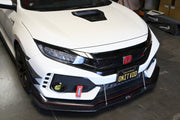 APR Performance Carbon Front Bumper Canards | Honda Civic Type R | FK8 2.0T K20C1 | 2017+