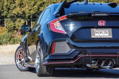 HKS LEGAMAX Premium Cat-Back Exhaust System | Honda Civic Type R | FK8 2.0T K20C1 | 2017+