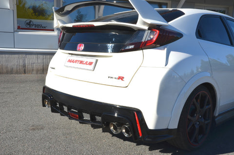 Martelius Cat-Back Exhaust System | Honda Civic Type R | FK2 2.0T K20C1 | 2015-2016