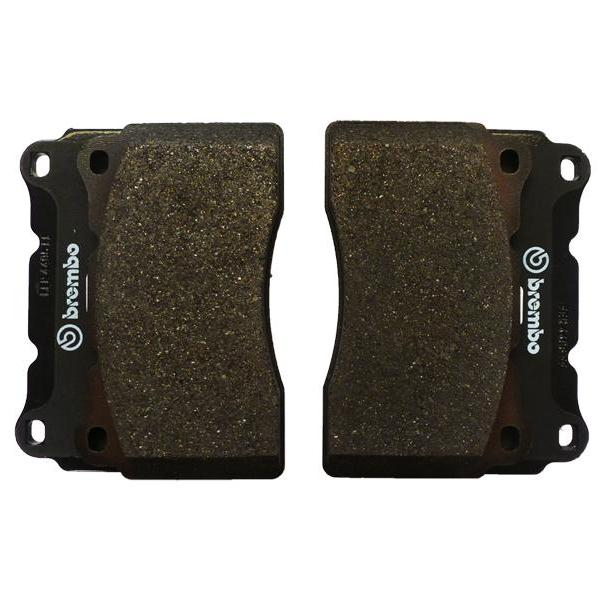 BREMBO FRONT AND REAR BRAKE PADS FITS HONDA CIVIC TYPE R FN2 2.0 PETROL