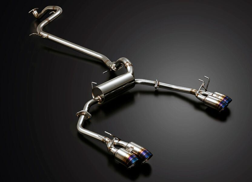 J's Racing SUS Exhaust Plus Dual Semi-Titanium 70RS Exhaust System | Honda Civic Type R | FK2 2.0T K20C1 | 2015-2016 | RHD Only