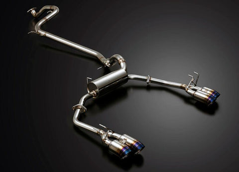 J's Racing FX-PRO Dual Full Titanium 70RS Exhaust System | Honda Civic Type R | FK2 2.0T K20C1 | 2015-2016 | RHD Only