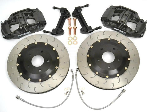 AP Racing Pro 5000 R Radi-CAL 'Essex Designed' Competition Brake Kit | Honda Civic Type R | FK2/FK8 2.0T K20C1 | 2015+