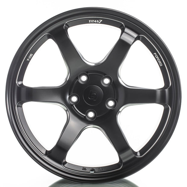 Titan 7 T-D6 Forged 6 Spoke Wheel | Honda Civic Type R | FK8 2.0T K20C1 | 2017+