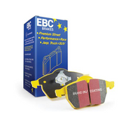 EBC Yellowstuff 4000 Series Rear Street and Track Brake Pad Set | Honda Civic Type R | FK8 2.0T K20C1 | 2017+