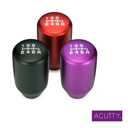 Acuity Instruments ESCO-T6 Aluminium Shift Knob For M10x1.5 Thread 6-Speed Gearboxes | Honda