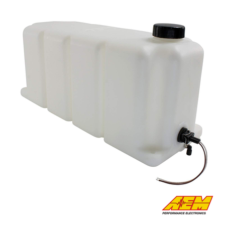 AEM Electronics V2 Water/Methanol Injection 5 Gallon Tank Kit With Conductive Fluid Level Sensor