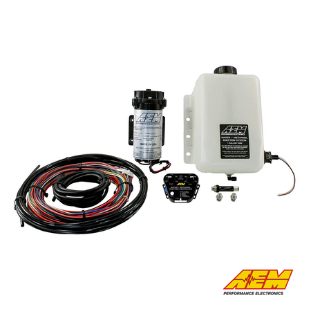 AEM Electronics V2 Water/Methanol Injection Kit | Multi-Input External MAF/MAP/0-5V/IDC | For Petrol & Diesel Engines