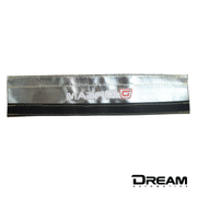 Dream Automotive Titanium Fabric Clutch Line Heat Shield | Honda Civic Type R | FK2/FK8 2.0T K20C1 | 2015+