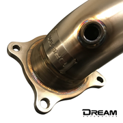 Dream Automotive De-Cat Downpipe | Honda Civic Type R | FK2 2.0T K20C1 | 2015-2016