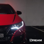 Dream Automotive Bonnet Stripes | Honda Civic Type R | FK2 2.0T K20C1 | 2015-2016