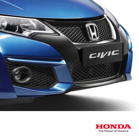 Genuine Honda Black Lower Sport Mesh Grill | Honda Civic Type R | FK2 2.0T K20C1 | 2015-2016