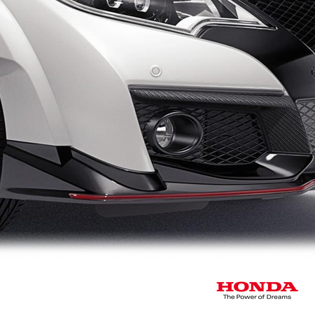Genuine Honda Carbon Fibre Fog Opening Decoration | Honda Civic Type R | FK2 2.0T K20C1 | 2015-2016