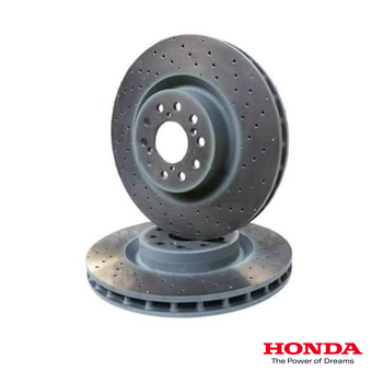Genuine Honda Front Brake Discs | Honda Civic Type R | FK2/FK8 2.0T K20C1 | 2015+
