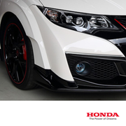 Genuine Honda Modulo 5000K LED Fog Light Kit | Honda Civic Type R | FK2 2.0T K20C1 | 2015-2016