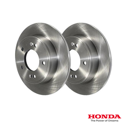 Genuine Honda Rear Brake Discs | Honda Civic Type R | FK2 2.0T K20C1 | 2015-2016
