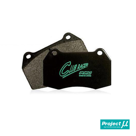 Project Mu Club Racer RC09 Front Brake Pads | Honda Civic Type R | FK2/FK8 2.0T K20C1 | 2015+
