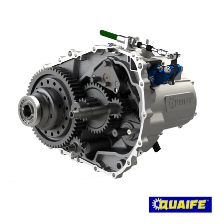 Quaife 6-Speed Sequential Gearbox | Honda Civic Type R | FK2/FK8 2.0T K20C1 | 2015+